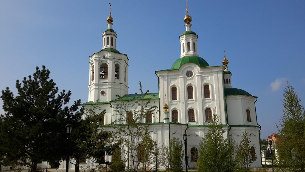 Вознесенско - Георгиевский храм г. Тюмень