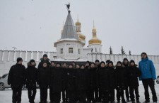 Тюменское президентское кадетское училище посетили Тюменское Православное Духовное училище