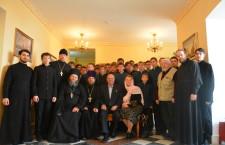 Состоялась встреча учащихся Тюменского Духовного училища с космонавтом Владимиром Титовым