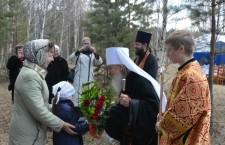Митрополит Тобольский и Тюменский Димитрий совершил освящение воды в селе Рафайлово