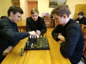 30 марта 2021 года в Тюменском духовном училище состоялся шахматный турнир