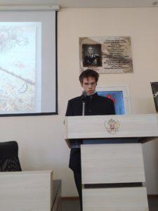 20 апреля 2021 г. студенты Тюменского духовного училища приняли участие в круглом столе «Александр Невский — уроки истории»